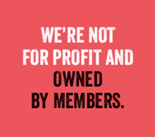 We're Not For Profit